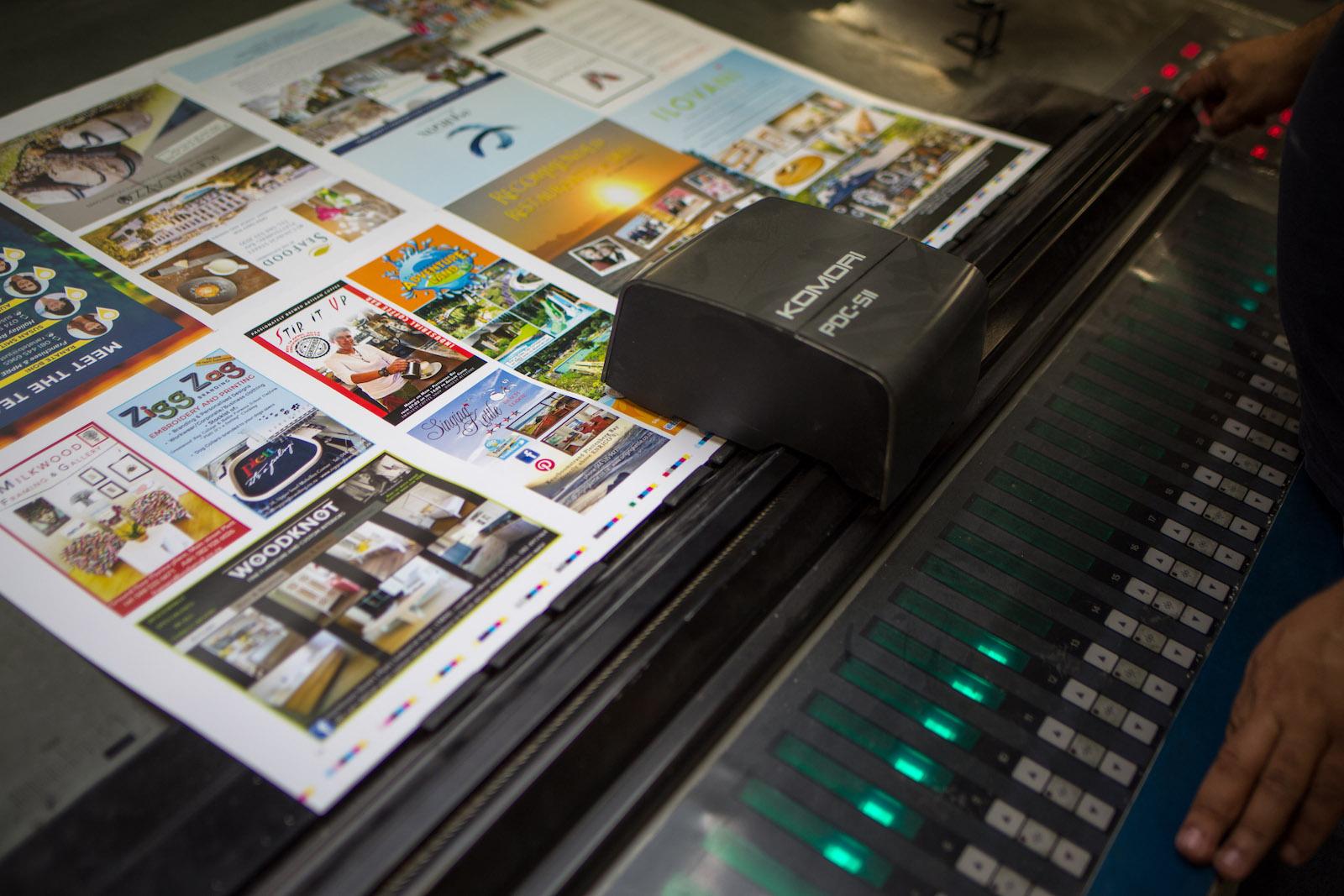 Catalogue printing Header