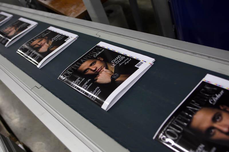 Magazine Printing Production